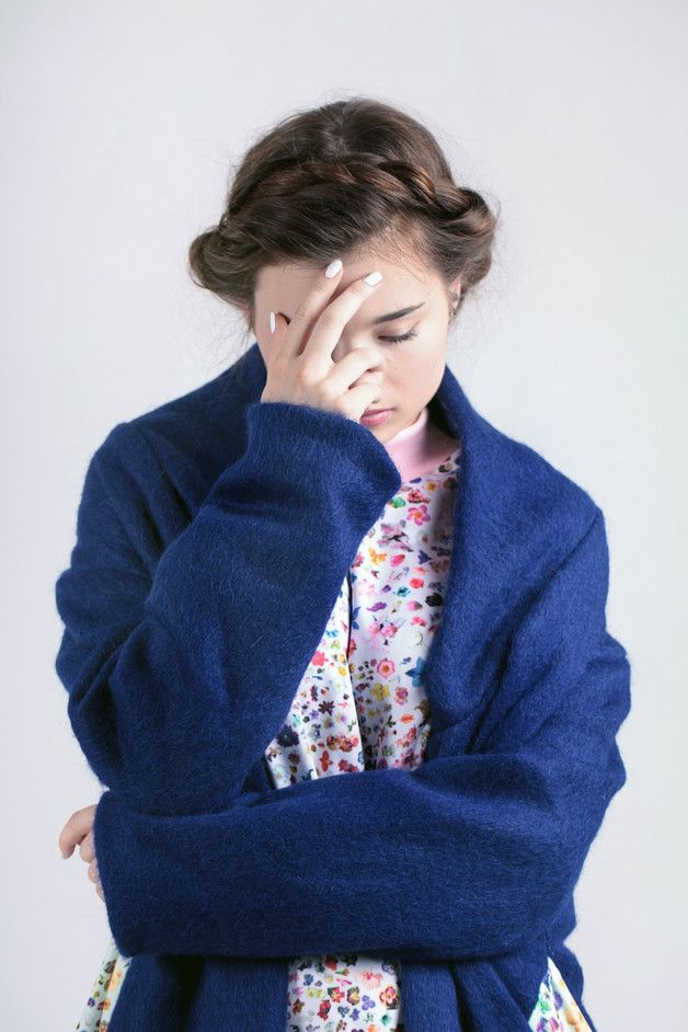 Płaszcz wełniany - zaworskaanna - Długie płaszcze