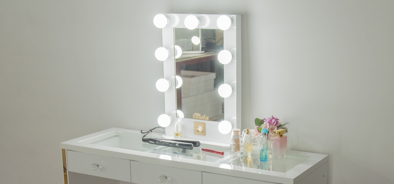 Hollywood Glow Pro Illuminated Vanity Mirror Personalized