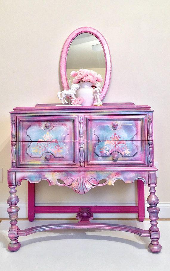 Best Sold Girls Pink Dresser Lavender Color Pink Chest Of 400 x 300