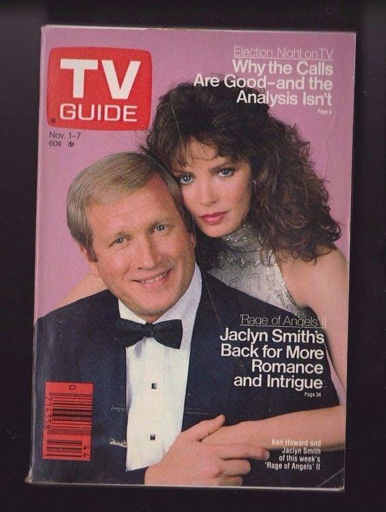 TV Guide Nov 1-7, 1986 | Ken Howard, Jaclyn Smith