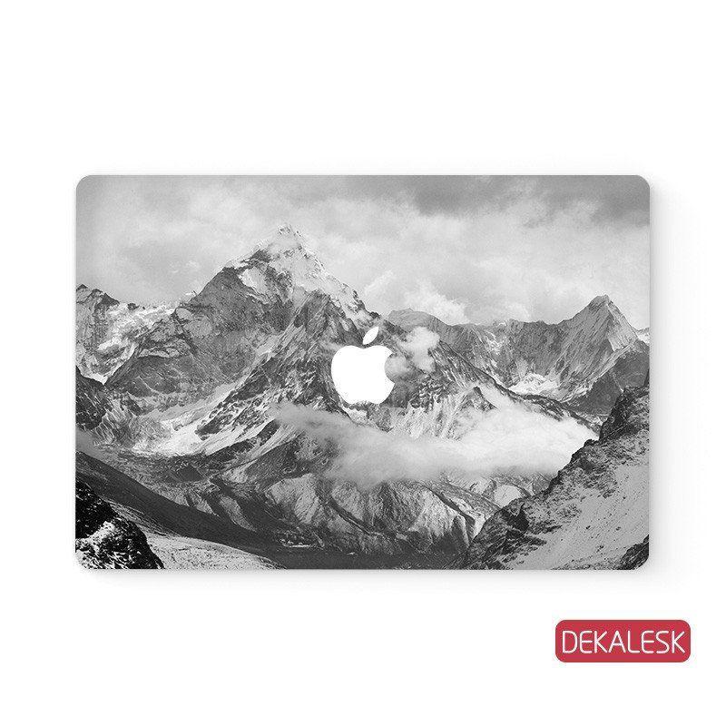 Snowy Mountains - MacBook Skin