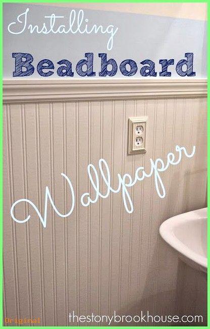 Wallpaper The Stonybrook House Installing Beadboard