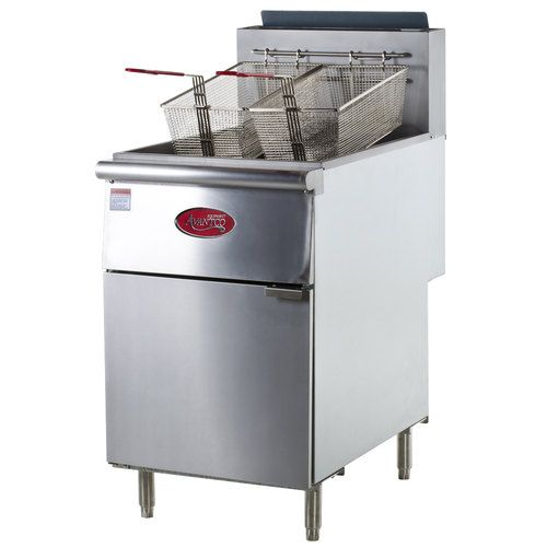 Commercial Gas Fryer A Commercial Gas Deep Fryer Is Perfect For