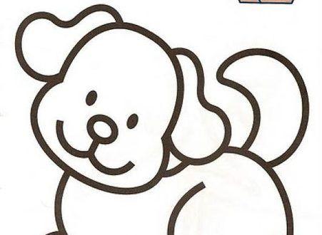 Perro 02 Dibujos Y Juegos Para Pintar Y Colorear Dibujos Para Colorear De 3 Anos Para Ninos Pr Templates Printable Free Coloring Sheets Template Printable