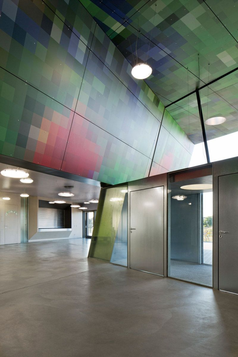 pixelpenne - schule bei wolfsburg fertig | architektur, schulen, Innenarchitektur ideen