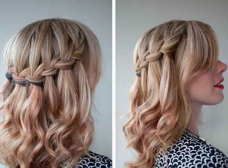 Prom Hairstyles For Medium Hair Braids Prom Hair Medium Medium Hair Styles Medium Length Hair Styles