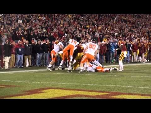 Iowa State Football Highlights Vs Oklahoma State One Of The Greatest Games Of All Time I Still Get Chil Iowa State Football Iowa State Football Highlight
