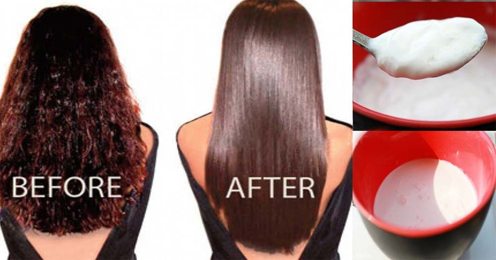 You Can Get Straight Hair In A Natural Way Below Is Given The Recipe To Make Homemade Hair Straigh Homemade Hair Products Straight Hairstyles Hair Smoothening