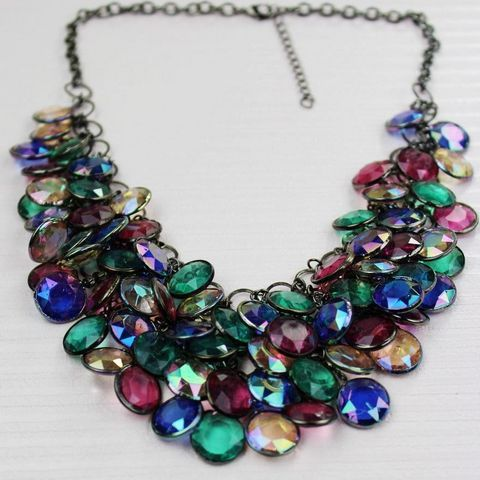 fashion luxury female short design necklace
