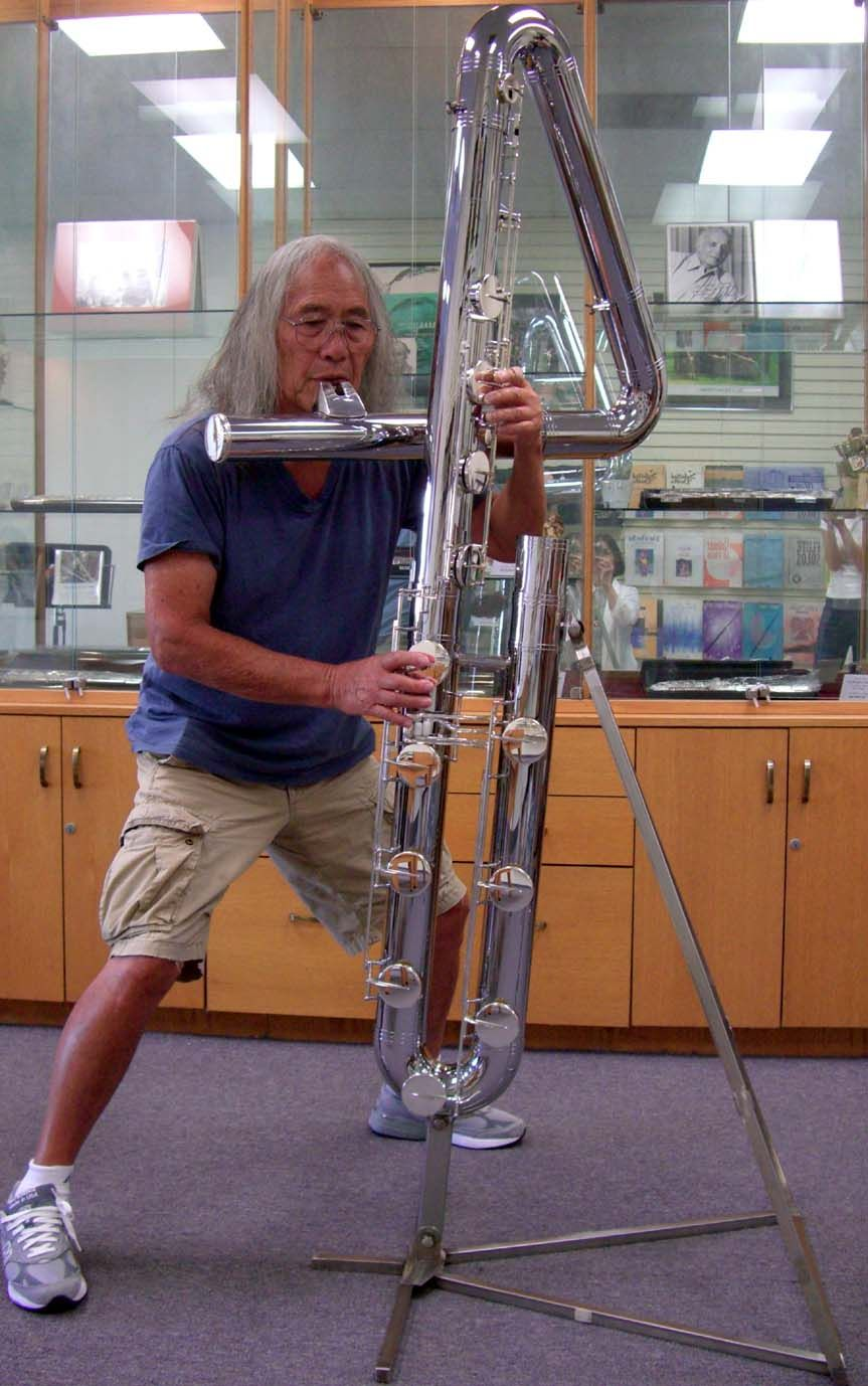 double contrabass flute | Musical instruments, Flute ...  Double Contrabass Flute Case