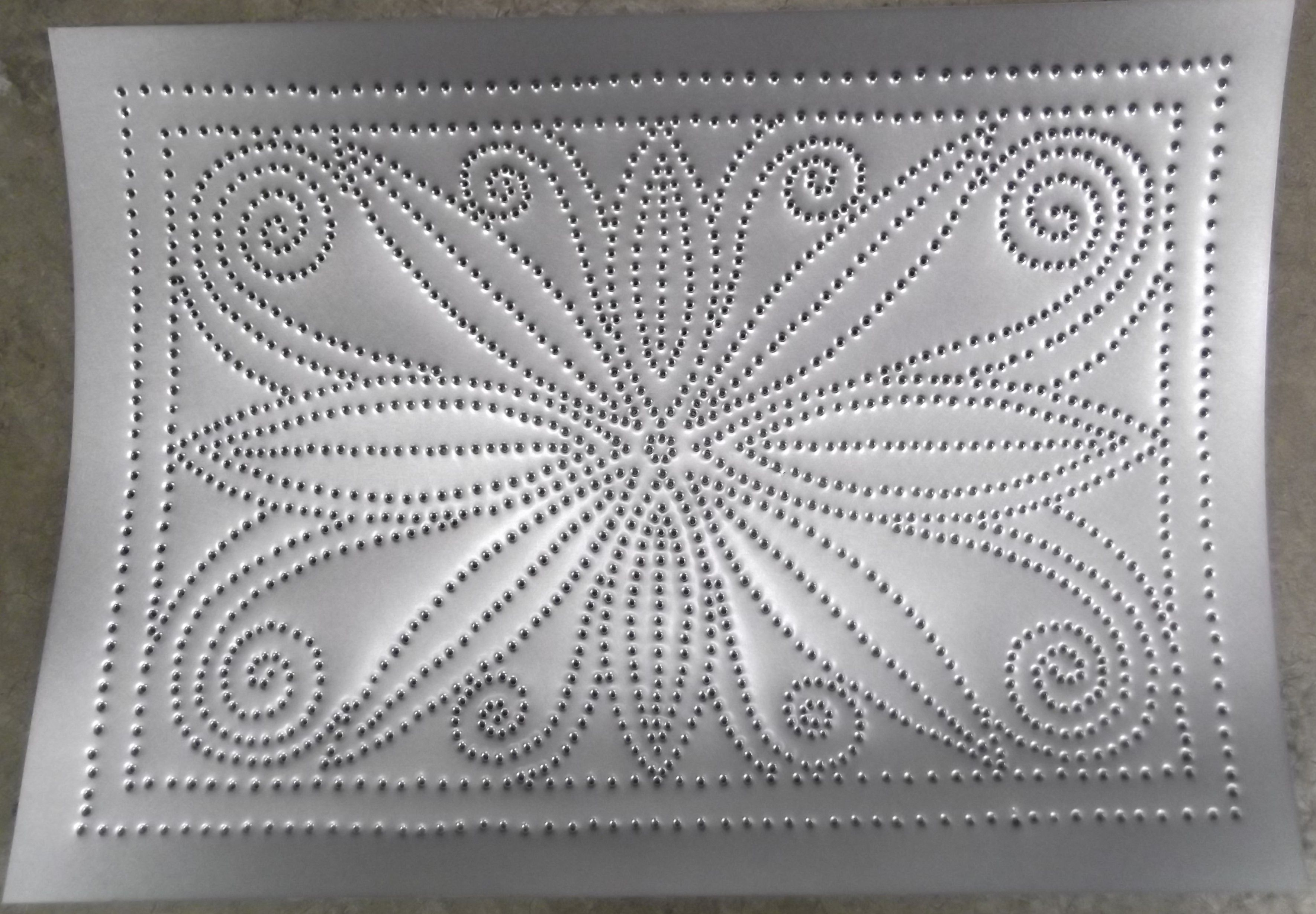 Punched Tin In Stock Ready To Install Rps 1073 Lacework No 10 10x14 Punched Tin Patterns Punched Tin Crafts
