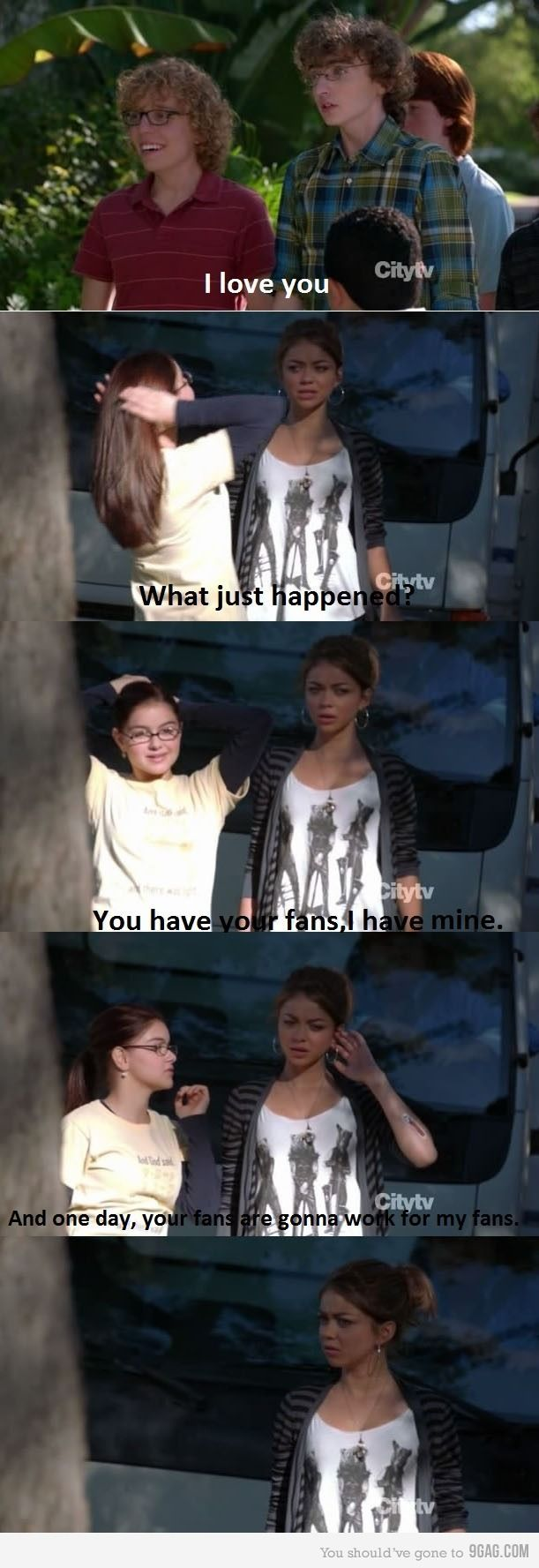 Modern Family Season 3 Someday Your Fans Are Going To Work For My Fans Modern Family Funny Modern Family Quotes Family Funny