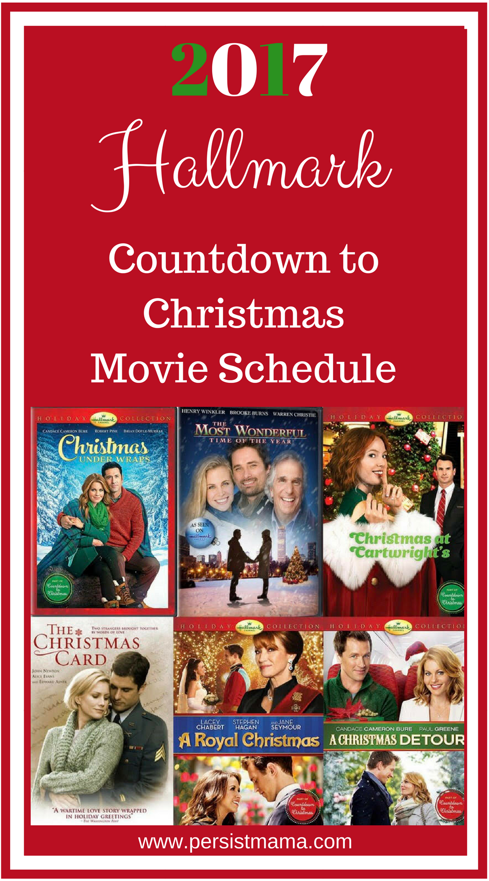 hallmark channels countdown to christmas movie schedule - What Christmas Movies Are On Tv Tonight
