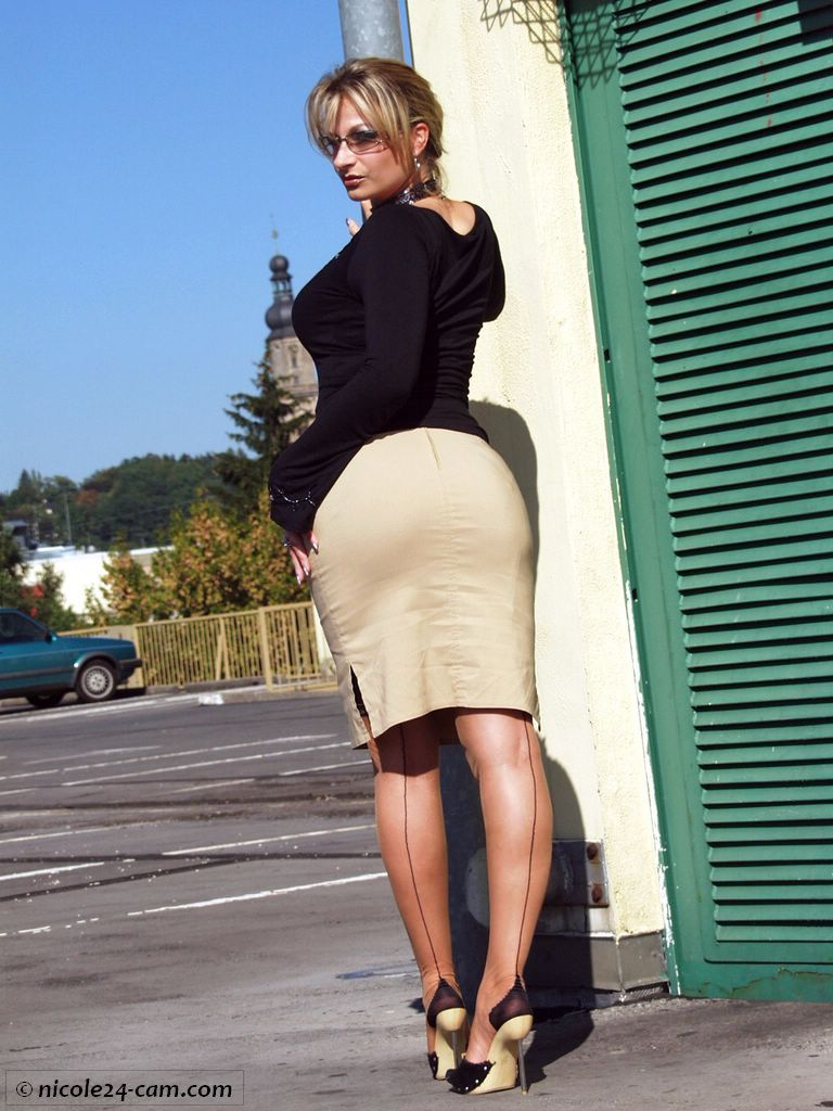 Amir fashion pantyhose with thigh
