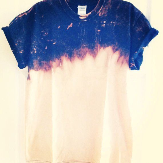 T Shirt Designing With Bleach On Fabric