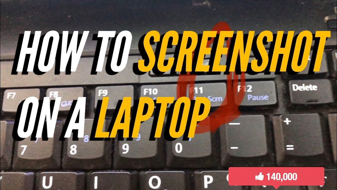 How To Screenshot On a Laptop in 2020 Razer, Asus, Hp