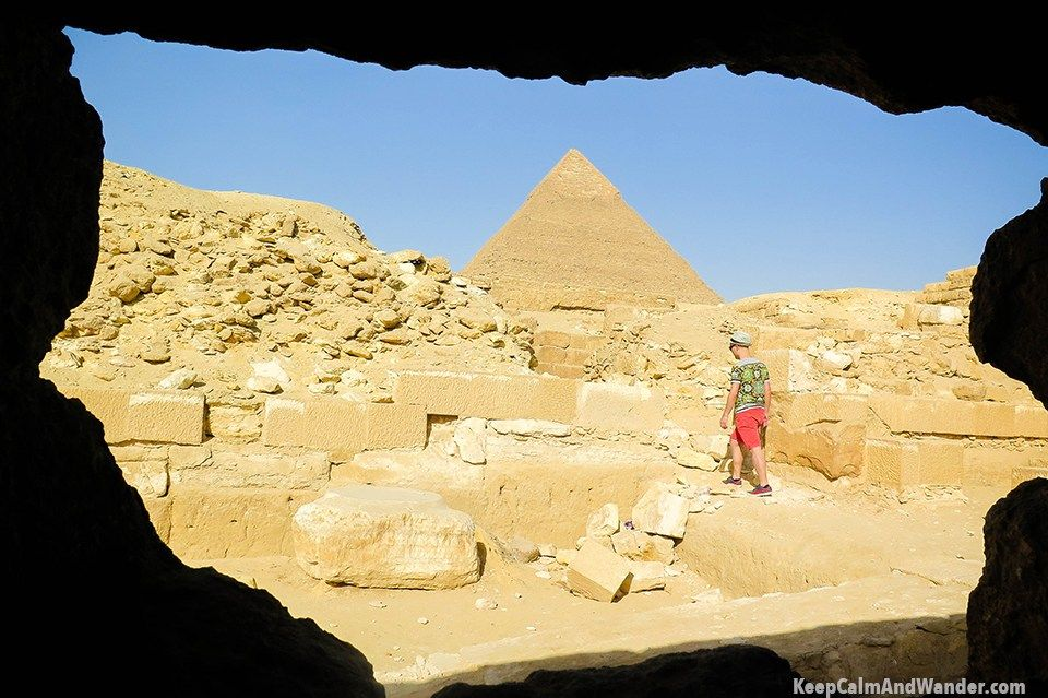 How To Explore The Pyramids of Egypt On Foot