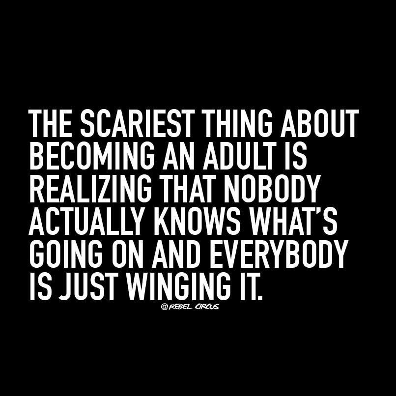 Quotes about becoming an adult