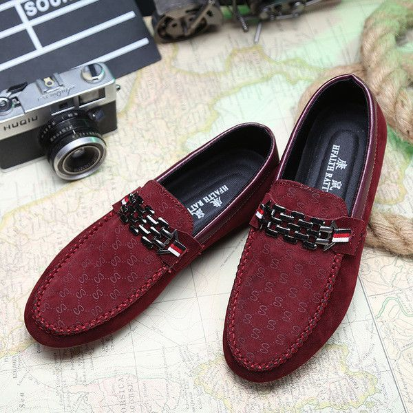 Mens Cool Royal Style Slip On Loafers Suede Shoes Men Driving Shoes Men Loafers Men