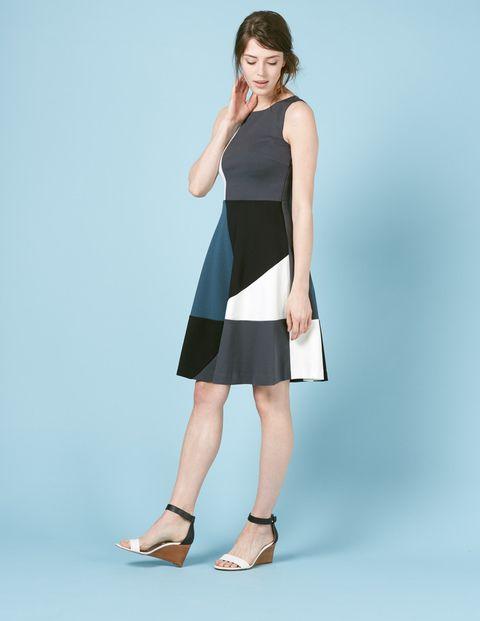 672fe06ddb7f Matilda Ponte Dress WW021 Summer Dresses at Boden