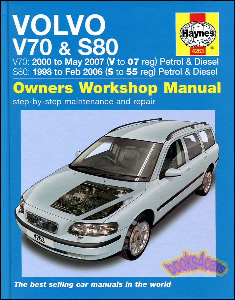 ManualsPRO - VOLVO SHOP MANUAL HAYNES SERVICE REPAIR BOOK S 80 V 70 CHILTON  WORKSHOPOWNERS https://t.co/26WrLf0CFz https://t.co/BWFBBXhdCf