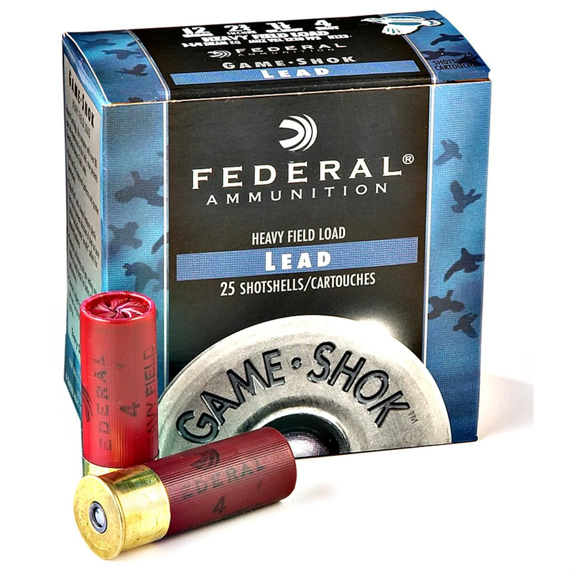 Federal GameShok Upland Heavy Field Loads Chasse, Boite
