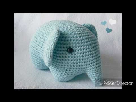 Crochet Along Elephant - YouTube   360x480