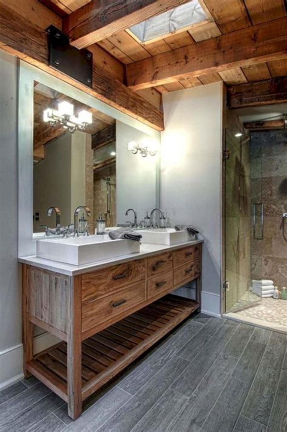 47 best farmhouse master bathroom design and decor ideas