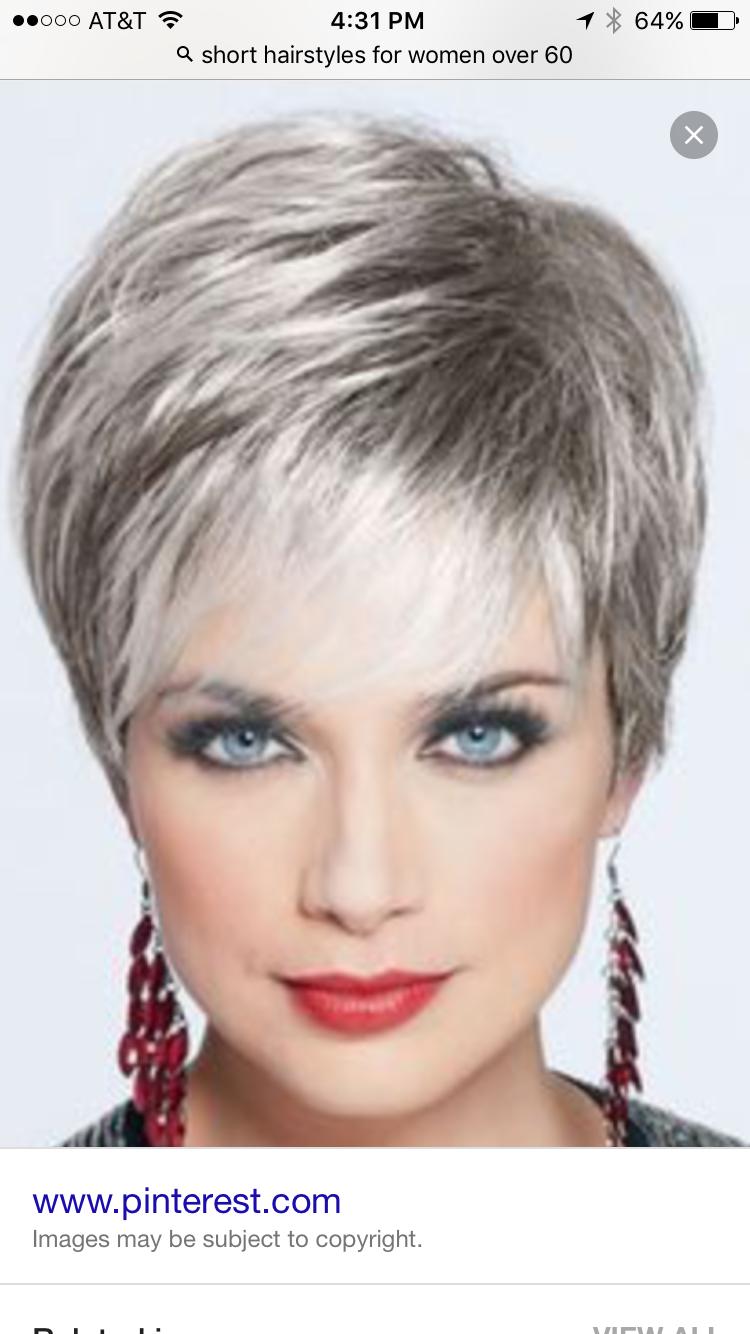 my hair style on 65 | my hairstyle over 65 | short grey hair