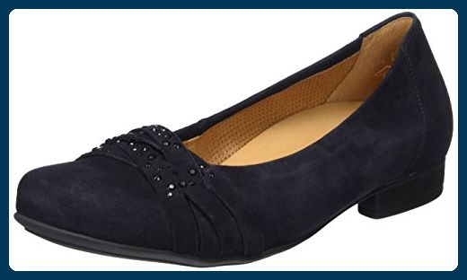 Gabor Shoes Damen Comfort Geschlossene Ballerinas, Blau (Pazifik 26), 38.5 EU