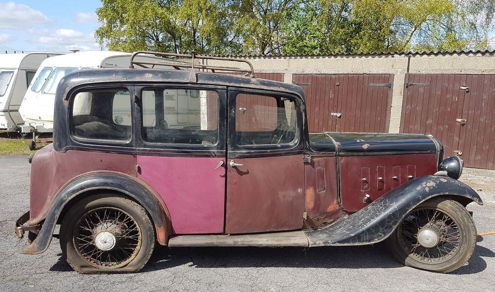 Details About Fantastic Original 1935 Austin Twelve Four Ascot HBX Pre War Barn Find