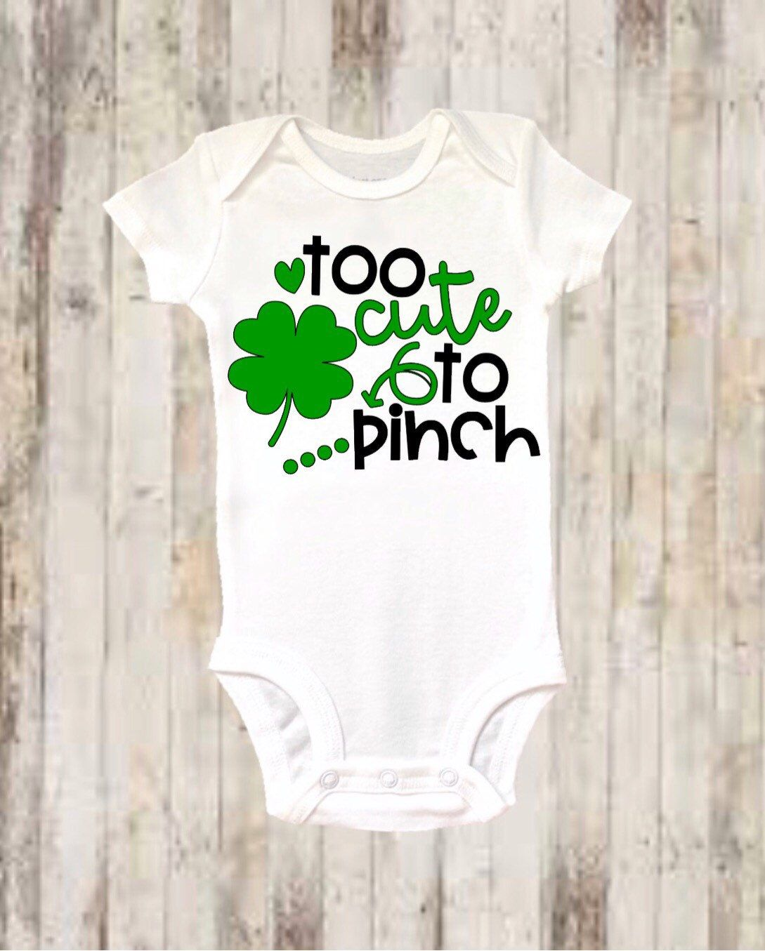 White Soft Cotton New Personalised Boys Girls T-shirt Tees Lucky Irish Baby