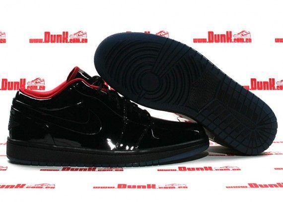 6af733fbf826 Air Jordan 1 Phat Low Premium - Tuxedo Prom Pack - Black - Varsity ...