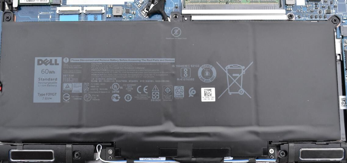 New arrival Laptop battery F3YGT for Dell Latitude 12 7000