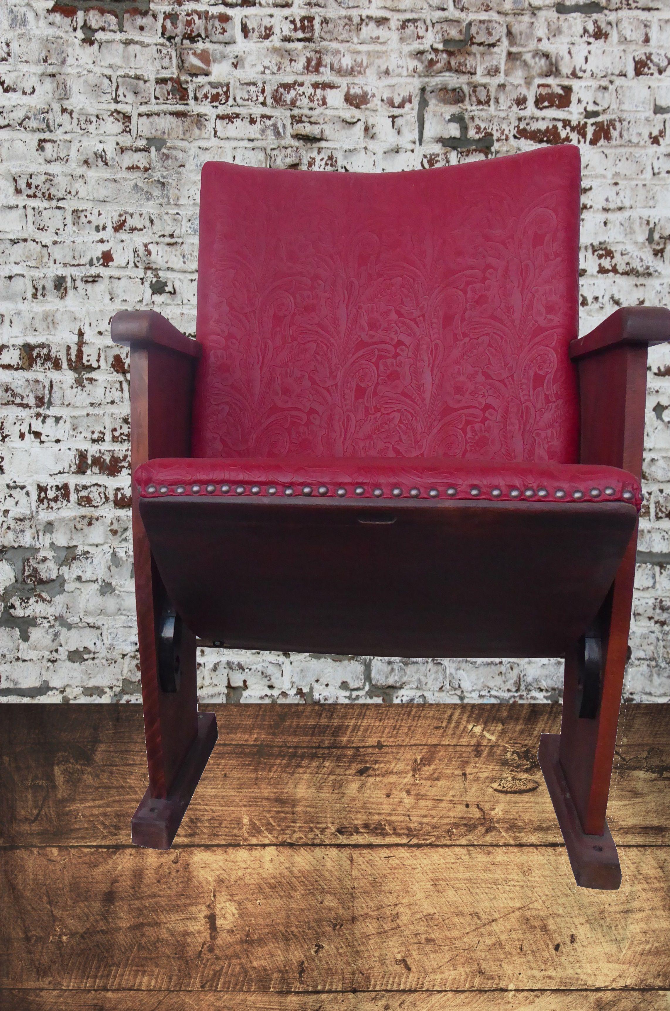 Vintagecinemachair Vintagefurniture Livingroom Interiorideas Seating Made Of Oakwood Completeyl Reworked And Re Kinostuhle Online Mobel Wohnzimmersessel