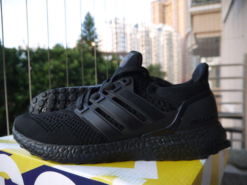 Men S Deadstock Size 8 Adidas Ultra Boost M 1 0 Triple Black Bb4677 Fashion Clothing Sho Ultra Boost Triple Black All Black Sneakers Adidas Ultra Boost