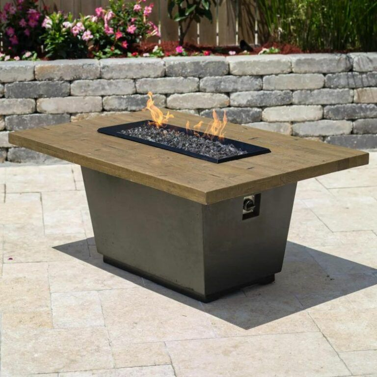 Keep The Fun Going After Dark With An Outdoor Gas Fire Pit In 2020 Fire Table Gas Fire Pits Outdoor Gas Firepit