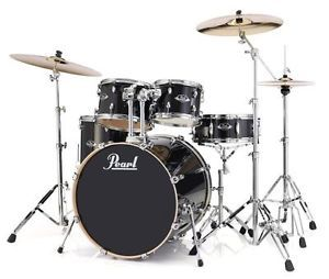 New & Factory Sealed Pearl EXL Export Lacquer Series EXL725/C248 BLACK SMOKE Shell Pack - Includes 4 Drums Total: 22x18 Bass Drum, 10x7 Tom and 12x8 Toms w/Optimount, 16x16 Floor Tom with Legs, 14X5.5 SNARE - FREE SET OF FIVE HUMES & BERG GALAXY DRUM BAGS - FREE Ship Continental USA - Also Ships to Alaska & Hawaii! http://stores.ebay.com/music-for-all-03   http://www.musicforall.biz/