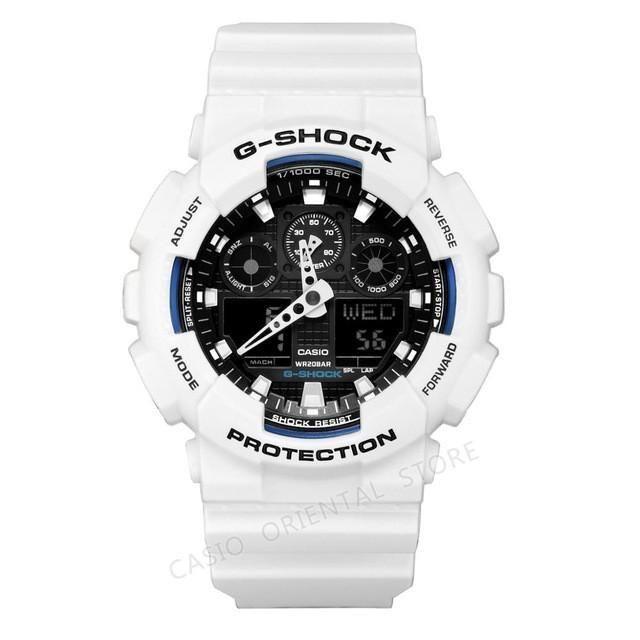 91cd6773f59 CASIO G-SHOCK WATCH Mens Watches TWatches Men GA-100A-9A Fashion Clock  Men s Quartz Watch Male Relogio Masculino