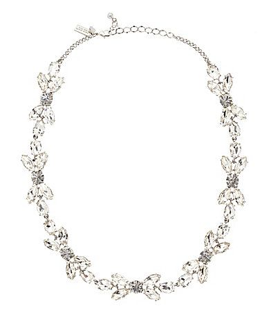 kate spade new york Crystal Petals Collar Necklace #Dillards