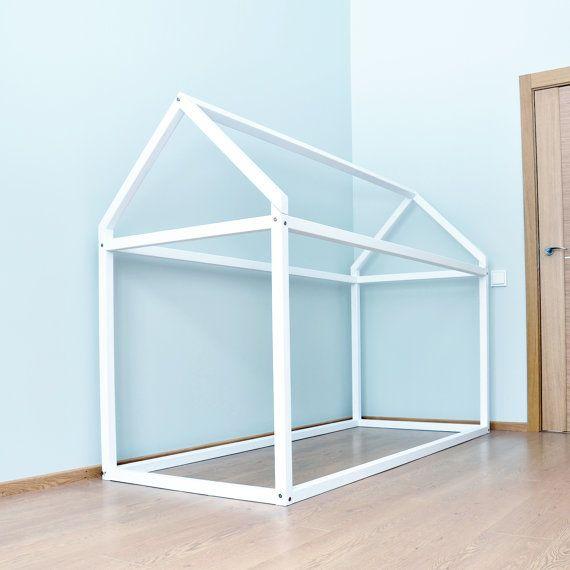Marco de la cama de casa de madera hará sus hijos habitación más ...