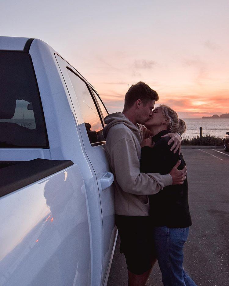, Baker Beach Near Golden Gate Bridge San Francisco Los Angeles, Travel Couple, Travel Couple