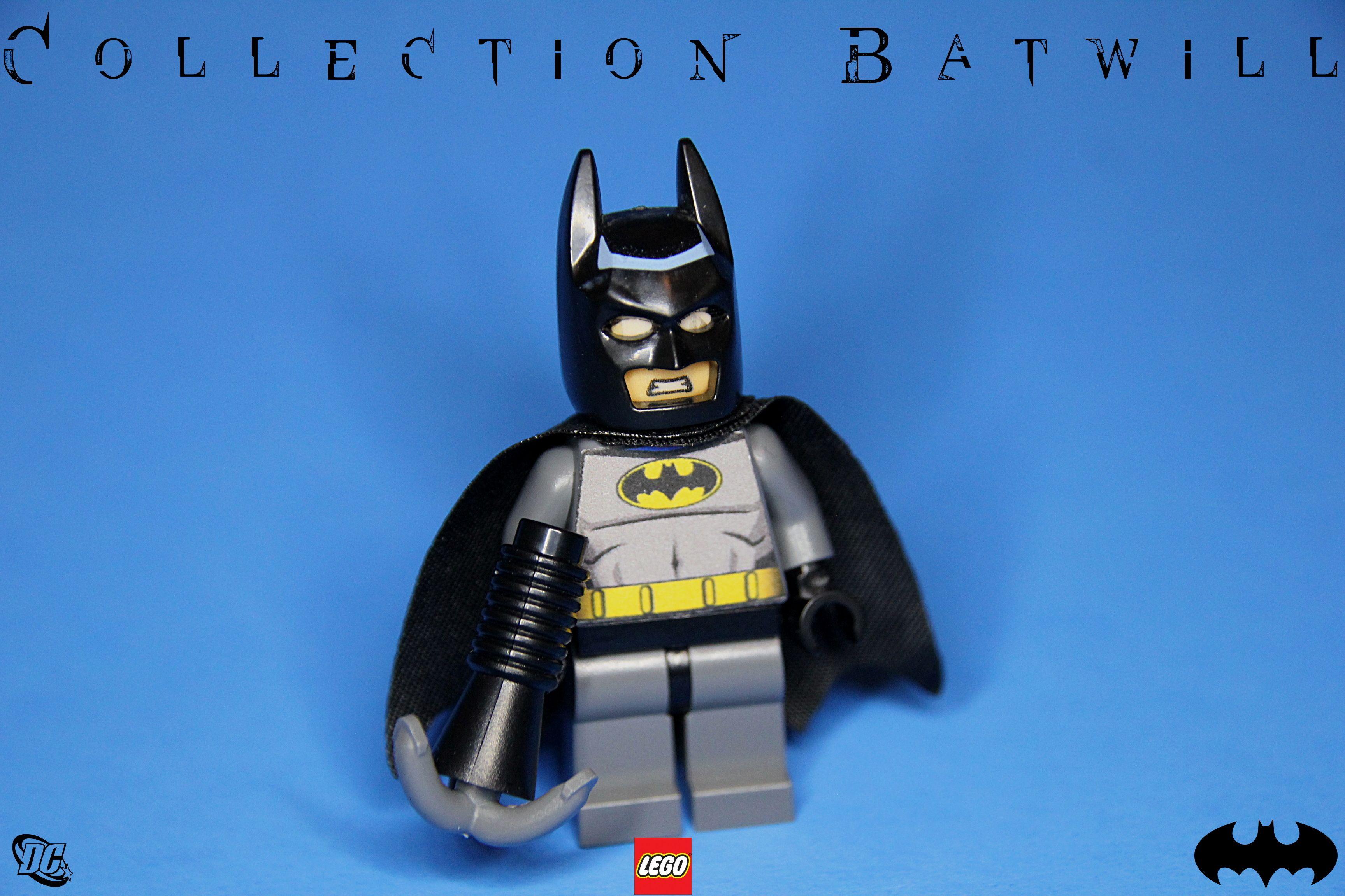 Lego Batman Animated Series Custom Decal Collection
