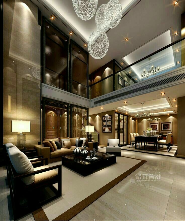 Best Glass Railing With Wood Luxury Living Room Design 640 x 480