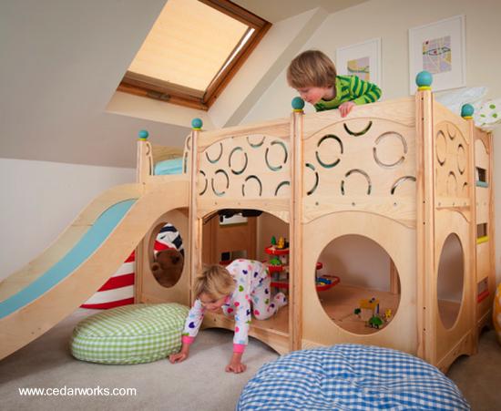 camas infantiles de cedro infantil muebles infantiles