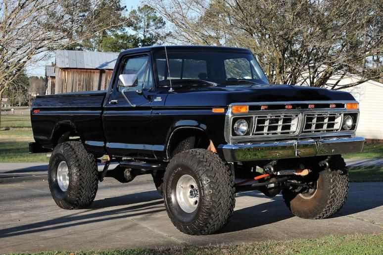 ford 1977 ford f150 lifted