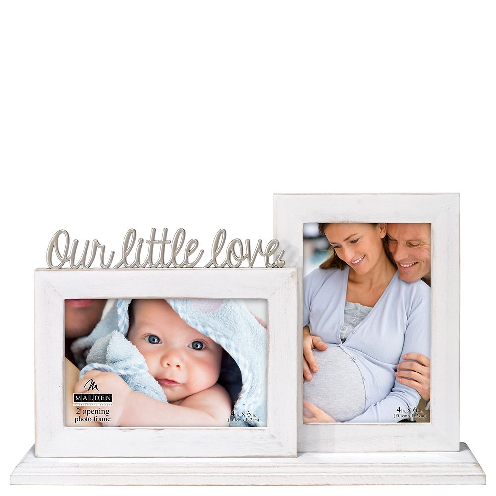 Malden Our Little Love Two Opening Frame 4x6 At The Paper Store Baby Frame New Baby Products Frame