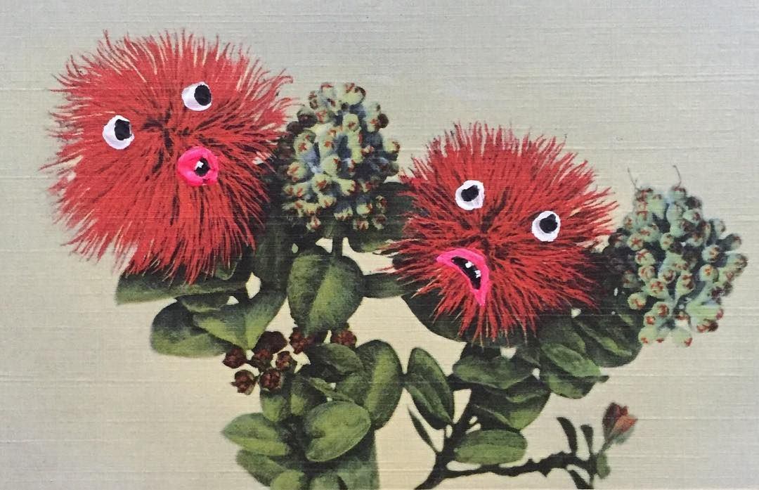 The Leary Lehua Flower
