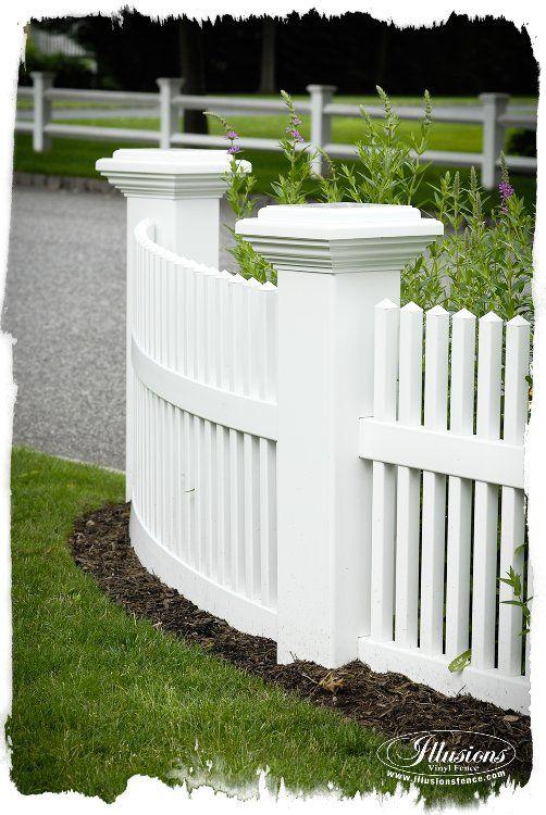 Pvc Garden Fence Posts