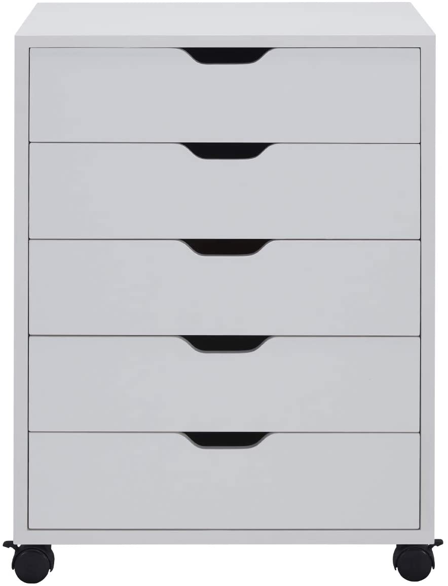 Amazon Com Vicllax 5 Drawer Office Filing Storage Cabinet Home Office Document Drawer Assemble Required Filing Cabinet Storage Cabinet Home Office Storage